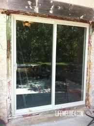 Installing Patio Door Install Patio Door Unique Installing Sliding Glass Door Saudireiki