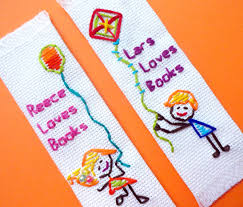 craft or die personalized handmade bookmark for kids