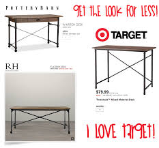 Target End Tables by Mixed Material Desk Threshold Target Desk Target And Desks
