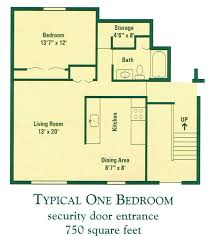 floor plans for apartments one bedroom floor plans for apartments design ideas 2017 2018