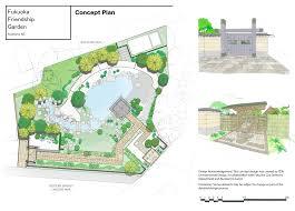 Zoo Floor Plan Landscaping Begins On Fukuoka Friendship Garden Ourauckland