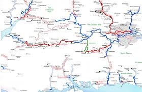 Surrey England Map by The Last 5 Miles And The Link To The Kennet And Avon Canal The