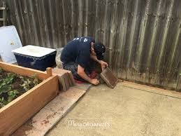 How To Lay Patio Pavers On Dirt by How To Install A Paver Patio The Foundation Of My Raised Garden