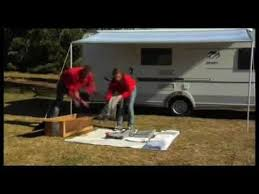 Fiamma Zip Awning Fiamma Installation Of Caravanstore Zip Guided Installation Youtube