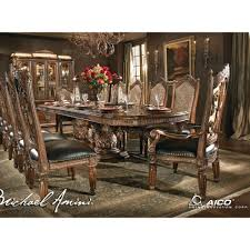 Michael Amini Dining Room Furniture 10 485 00 Villa Valencia 13 Pc Dining Room Set By Michael Amini