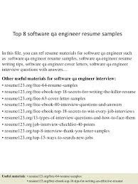 Sqa Resume Sample Sample Resume Experienced Manual Tester Software Testing Resume