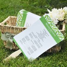 how to make wedding fan programs wedding fan program diy paper kit daveyard b6626ff271f2