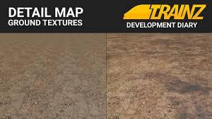 trainz dev diary detail map ground textures sneak peek youtube