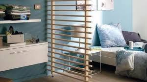 chambre castorama cloison amovible bois chambre aménagement studio