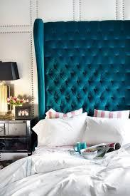 Velvet Tufted Headboard Design Inspiration Dramatic Headboards Blue Velvet Bedrooms