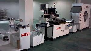 Print Production Manager Automatic Roll To Roll Screen Printing Machine Youtube
