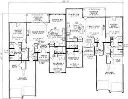 Multi Family House Plans Duplex Plan 59338nd Charming Duplex House Plan Duplex House Plans