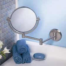 Bathroom Magnifying Mirror by Bathroom Mirrors You U0027ll Love Wayfair