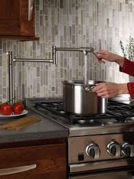 pot filler kitchen faucet kitchen tile backsplash home style kitchens stove