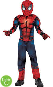 little boys classic spiderman costume party city
