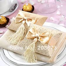 where can i buy boxes for gifts aliexpress buy 12pcs beige paper pillow boxes for gifts