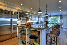 amazing kitchen lights in chimney above stove light 8 light island
