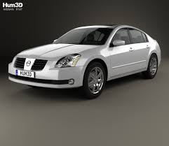 white nissan maxima 2012 nissan maxima 2012 3d model hum3d