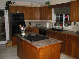 Unfinished Wood Kitchen Island by Kitchen Island Different Color Than Cabinets Oven Hoods Kitchen