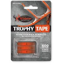 wildgame innovations trophy tape 666152 taxidermy at
