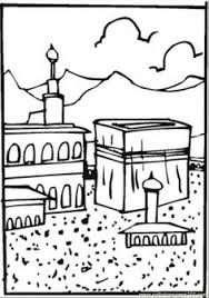 hajj coloring pages funycoloring