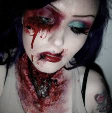 Halloween Special Effects Makeup by Torn Ripped Open Neck Halloween Horror Fx Makeup Look Youtube