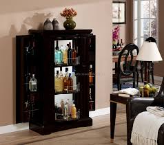 Crosley Furniture Bar Cabinet Locking Bar Liquor Storage Cabinet Best Home Furniture Decoration