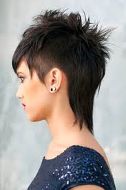 40 short haircuts for girls with added oomph short mohawk