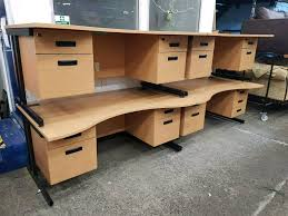 Office Desks Newcastle Modern Waved Office Desks X240 Currently Available Priced Each