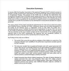 template for summary report executive summary report exle template c45ualwork999 org