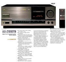 jvc home theater receiver jvc ax z1010tn pesquisa google vintage audio pinterest audio