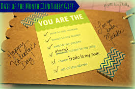 Gift Of The Month Ideas Date Of The Month Club Hubby Gift Ya Gotta Have A Hobby