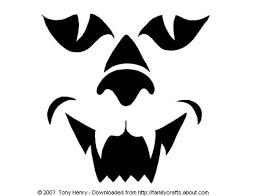 cat face pumpkin carving pattern clip art library