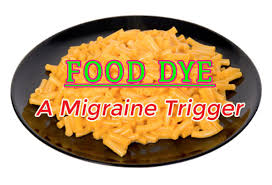 food dye as a migraine trigger