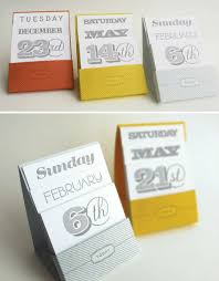 Desk Calendar Design Ideas 30 Days Of Design 15 Off The Wall Calendars Urbanist