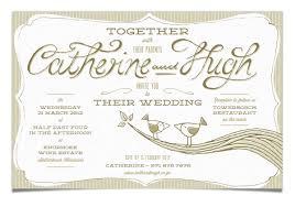 wedding invitations cape town solid stuff catherine hugh