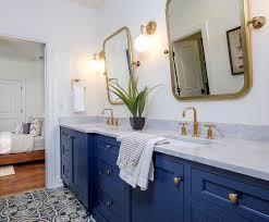 Blue Bathroom Vanity by Home Bunch U2013 Interior Design Ideas
