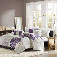 Duvet In Washing Machine Shop Madison Park Lola Purple Comforters U0026 Duvets The Home