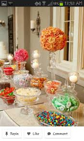 Candy Buffet Wedding Ideas by 129 Best Dessert And Candy Bar Buffet Images On Pinterest