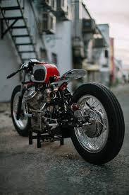custom honda moto mucci