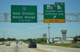 map louisiana highways interstates interstate guide interstate 12