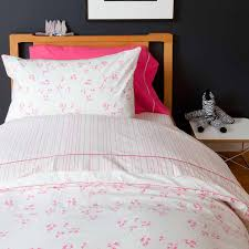 Duvet Twin Cover Pretty With Pink Twin Duvet Cover By Little Auggie
