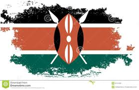 Flag Of Kenya Grunge Kenya Flag Stock Illustration Illustration Of Black 9744180
