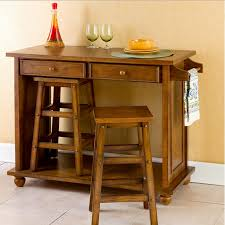 portable kitchen island with stools home furniture