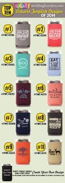 koozies for weddings 52 best most popular wedding designs images on wedding