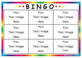 free bingo template 17 images flannel friday farm pack
