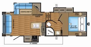 fifth wheel bunkhouse floor plans inspirational th wheels with
