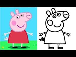 peppa pig colors and painting games online peppa pig painting