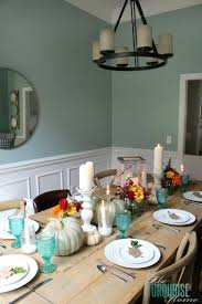 turquoise thanksgiving tablescape the turquoise home