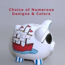 customized piggy bank baby personalized piggy banks painted more personalized